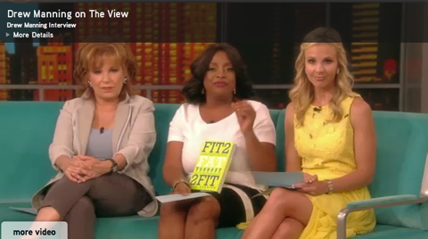 Fit2fat2fit On The View