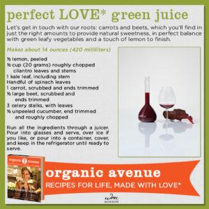Perfect Love Green Juice Recipe